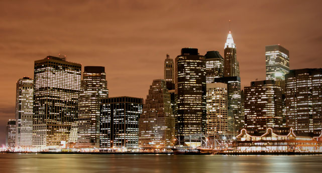 Photo: Skyline at Night