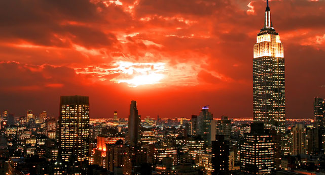 Photo: New York at Sunset
